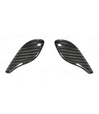 Koshi Abarth 595 Steering Wheel Thumb Grips Cover