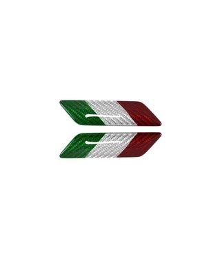 Koshi Carbon Fiber Fender Emblem w/ Flag