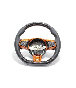 Koshi Group Jaguar F-Type R Steering Wheel Upper & Lower Parts