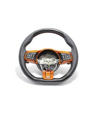 Koshi Jaguar F-Type R Steering Wheel Upper & Lower Parts