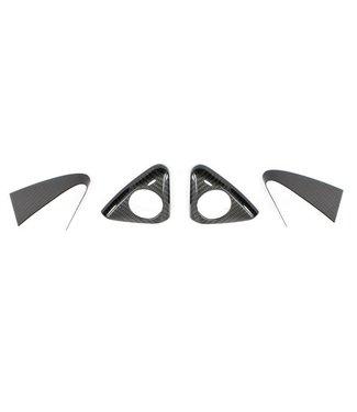 Koshi Group Mercedes Benz SLK R172 Tweeter Triangles Frame Cover