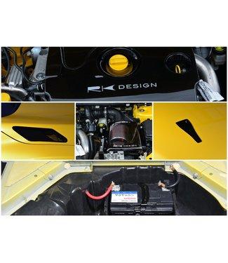 RK Design Full Engine Cooling *KIT* for Mégane R.S.
