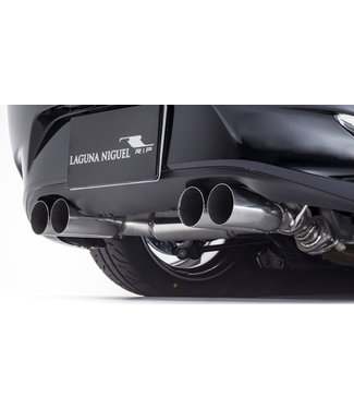 RK Design Axle-back muffler (quad tail) for Mazda Roadster