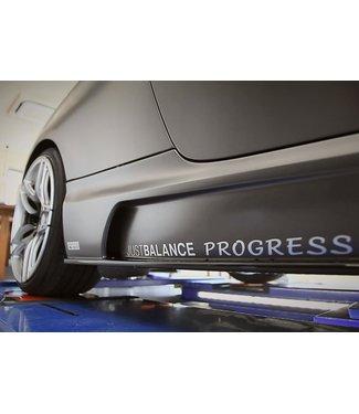 RK Design Side Steps for BMW 3 Series
