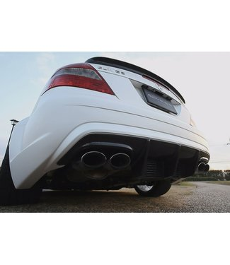 RK Design Rear Bumper Spoiler for Mercedes AMG CLK63