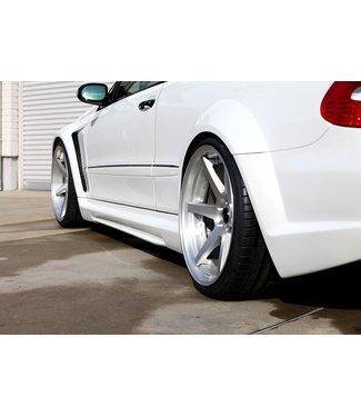 RK Design Rear Wide Fenders for Mercedes AMG CLK63