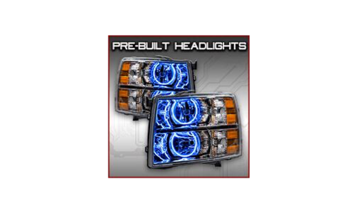 Pre-built Headlights