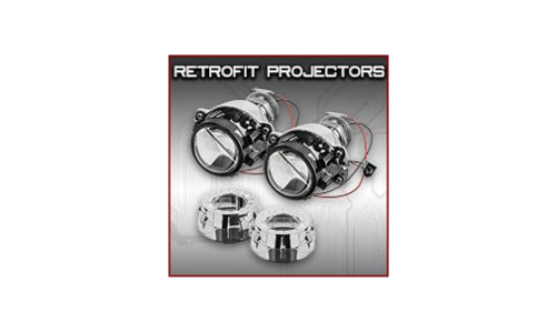 Retrofit Projectors