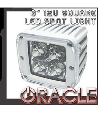 "Oracle Lighting ORACLE Marine 3"" 12W LED Square Spot Light"