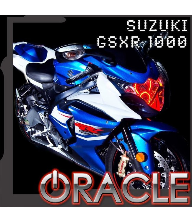 Oracle Lighting 2008-2013 Suzuki GSX-R 1000 ORACLE Motorcycle Halo Kit