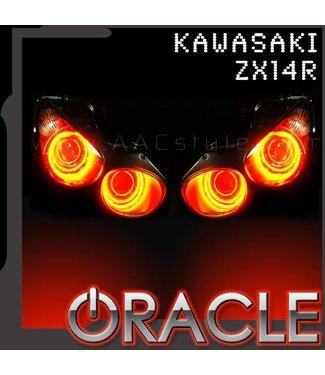 Oracle Lighting 2007-2015 Kawasaki ZX-14R ORACLE Motorcycle Halo Kit