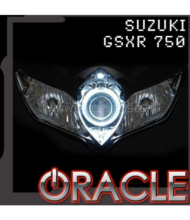 Oracle Lighting 2007-2010 Suzuki GSX-R 750 ORACLE Motorcycle Halo Kit