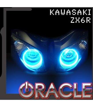 Oracle Lighting 2007-2009 Kawasaki ZX-6R ORACLE Motorcycle Halo Kit