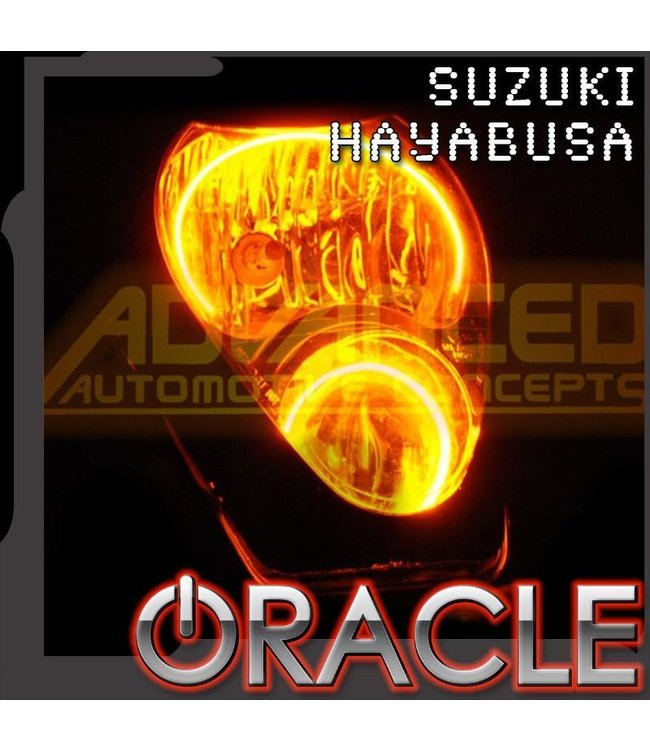 Oracle Lighting 2000-2015 Suzuki Hayabusa ORACLE Motorcycle Halo Kit