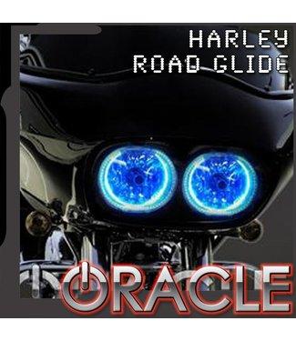 Oracle Lighting 1999-2015 Harley Road Glide ORACLE Halo Kit