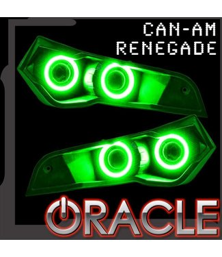 Oracle Lighting 2007-2019 Can-Am Renegade Head Light ORACLE Halo Kit
