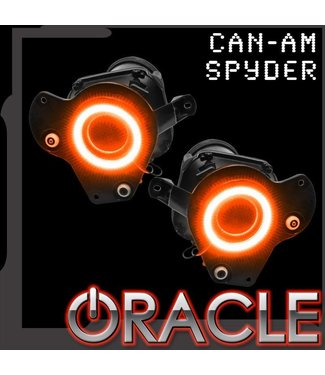 Oracle Lighting 2008-2010 Can-Am Spyder ORACLE Halo Kit