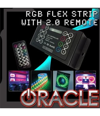Oracle Lighting ORACLE 200'' RGB ColorSHIFT Flex Strip System w/ ColorSHIFT 2.0 Controller