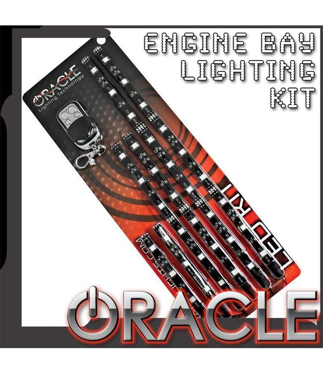 Oracle Lighting ORACLE Engine Bay / Motorcycle LED Lighting Kit with Wireless Remote