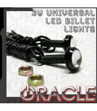 Oracle Lighting ORACLE 3W Universal Cree LED Billet Bolt Lights