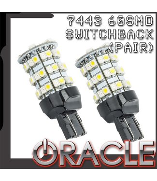 Oracle Lighting ORACLE 7443 60 SMD Switchback Bulb (Pair)