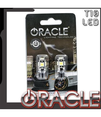 Oracle Lighting ORACLE T10 5 LED 3-Chip SMD Bulbs (Pair)