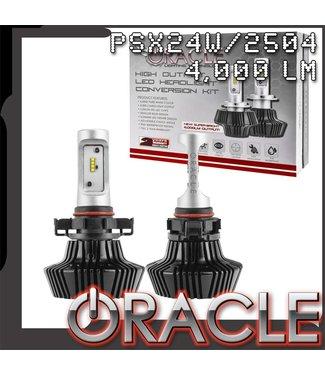 Oracle Lighting ORACLE PSX24W/2504 4,000+ Lumen LED Headlight Bulbs (Pair)