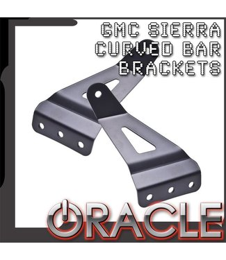 "Oracle Lighting 2007-2013 GMC Sierra ORACLE Curved 50"" LED Light Bar Brackets"