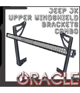 Oracle Lighting ORACLE Jeep JK Upper Windshield Brackets + Light Combo