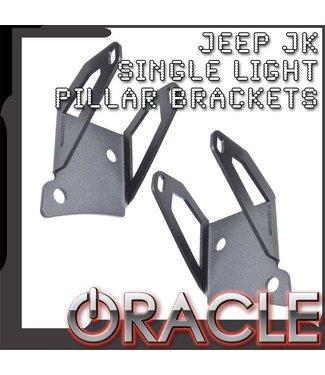 Oracle Lighting ORACLE Jeep JK Single Light Mounting Pillar Brackets (Pair)