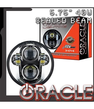 "Oracle Lighting ORACLE 5.75"" 40W Replacement LED Headlight"