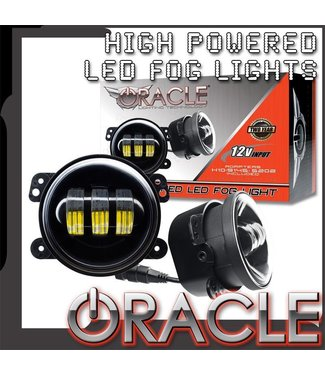 Oracle Lighting ORACLE High Powered LED Fog Light Replacement - (Pair)