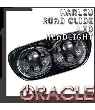 Oracle Lighting ORACLE Harley Road Glide Replacement LED Headlight - Black