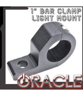 """Oracle Lighting ORACLE Off-Road 1"""" Aluminum Bar Clamp Mount"""