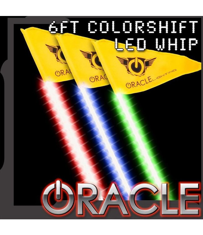 Oracle Lighting ORACLE Off-Road 6ft ColorSHIFT LED Whip