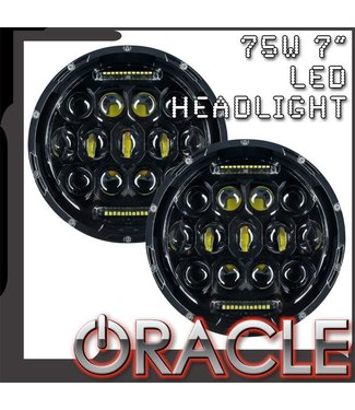 "Oracle Lighting ORACLE Off-Road 75W 7"" CREE LED Replacement Headlights (Pair)"