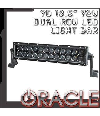 "Oracle Lighting ORACLE Black Series - 7D 13.5"" 72W Dual Row LED Light Bar"