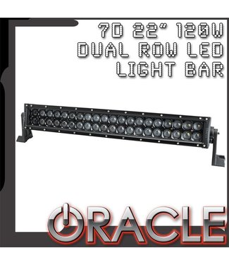 Oracle Lighting ORACLE Black Series - 7D 22 120W Dual Row LED Light Bar