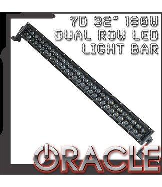 "Oracle Lighting ORACLE Black Series - 7D 32"" 180W Dual Row LED Light Bar"