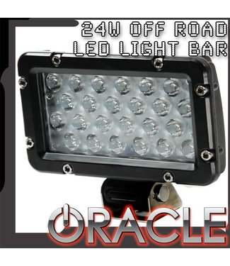 "Oracle Lighting ORACLE Off-Road 8"" 24W LED Spot Light Bar"