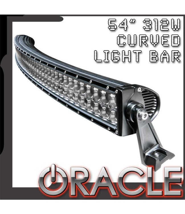 """Oracle Lighting ORACLE Off-Road 54"""" 312W LED Curved Light Bar"""