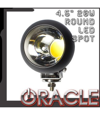 """Oracle Lighting ORACLE Off-Road 4.5"""" 20W Round LED Spot Light"""