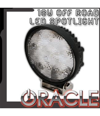 """Oracle Lighting ORACLE Off-Road 4.5"""" 18W Round LED Spot Light"""