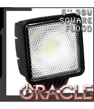 "Oracle Lighting ORACLE Off-Road 5"" 30W Square LED Flood Light"