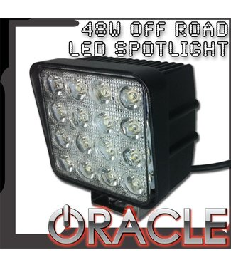 "Oracle Lighting ORACLE Off-Road 4.5"" 48W Square LED Spot Light"
