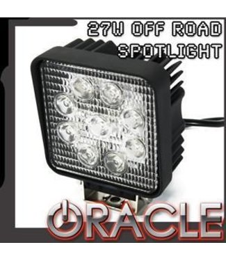 "Oracle Lighting ORACLE Off-Road 4.5"" 27W Square LED Spot Light"