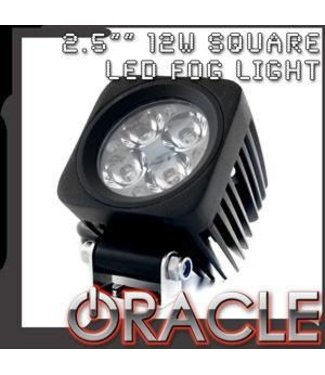 "Oracle Lighting ORACLE Off-Road 2.5"" 12W Square LED Fog Light"