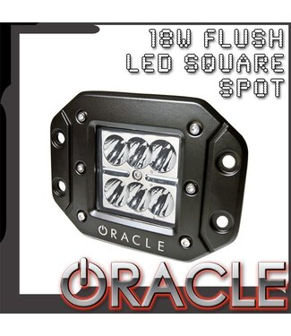 Oracle Lighting ORACLE Off-Road 18W Flush LED Square Spot Light