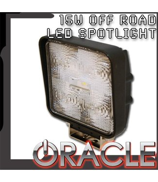 Oracle Lighting ORACLE Off-Road 15W Square LED Spot Light