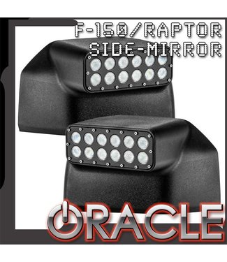 Oracle Lighting ORACLE 2015-2019 Ford F150 Off-Road Mirrors